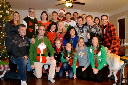 momtime ugly sweater party