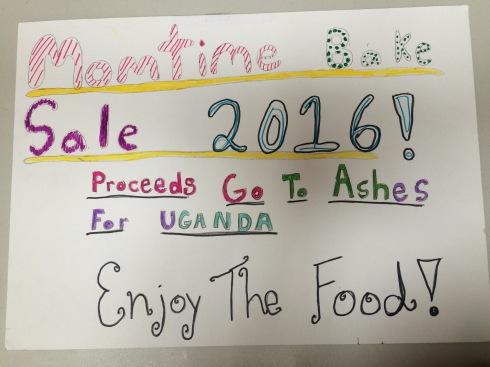 MomTime Bake Sale poster